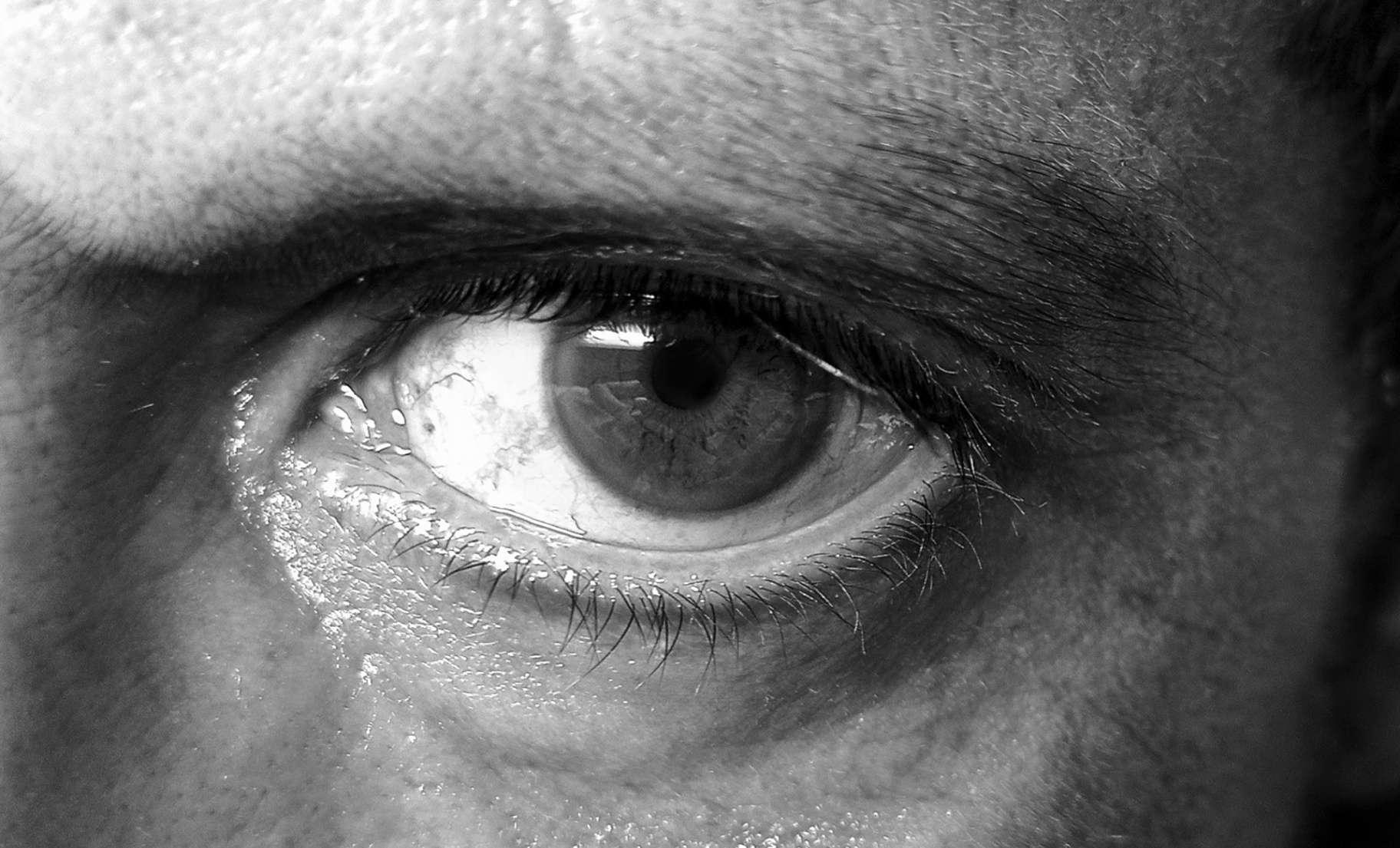 Obra: Self portrait of my eye
