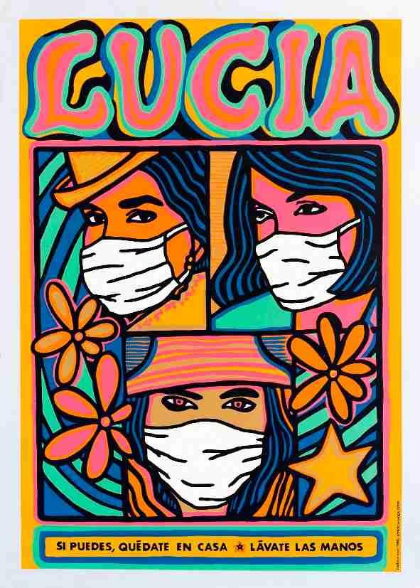 Obra: Lucía en tiempos de Covid19