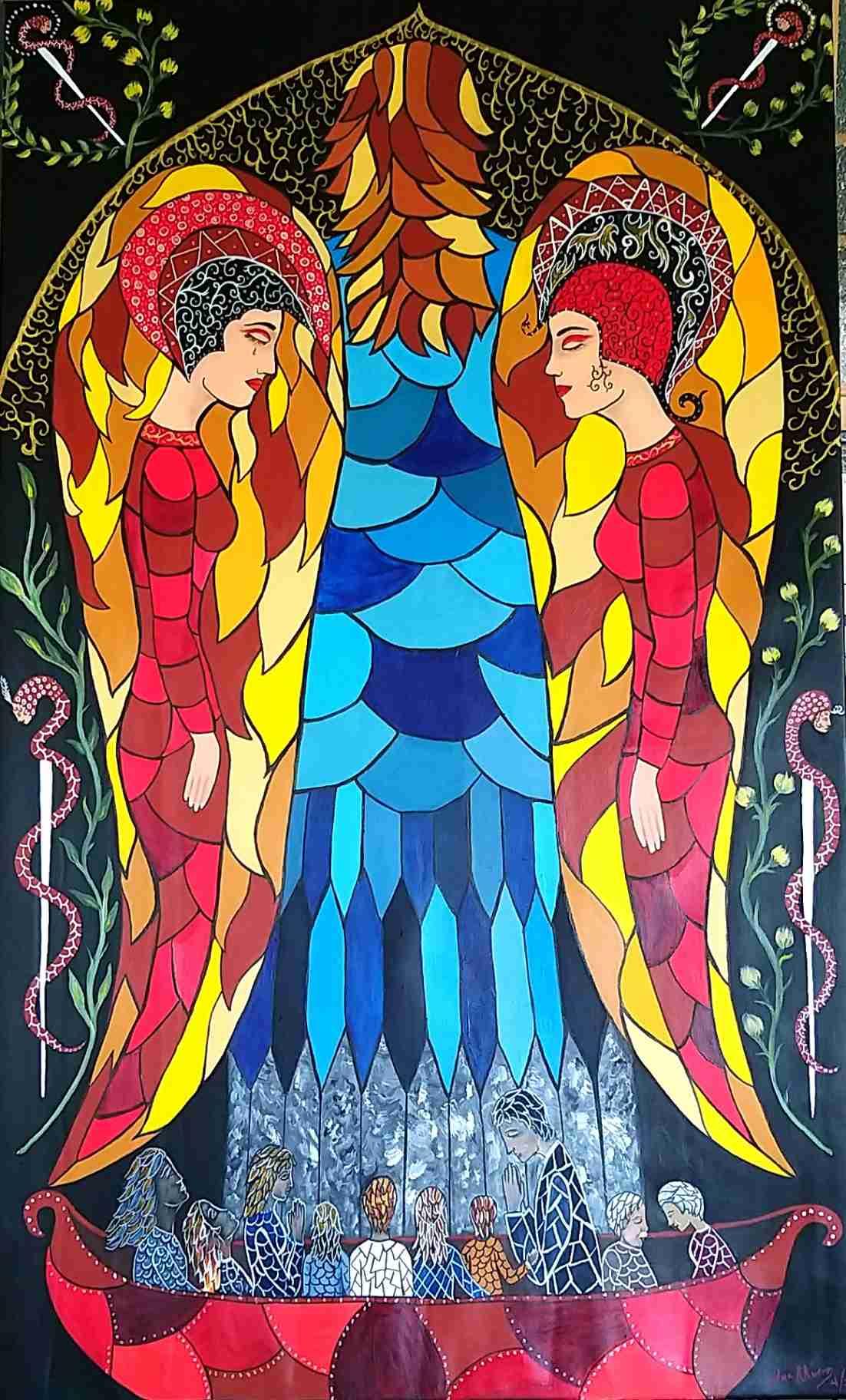Obra: Invocación al Ángel de la Salud