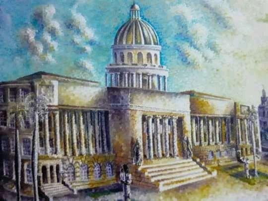 "Obra: "" Capitolio Nacional """
