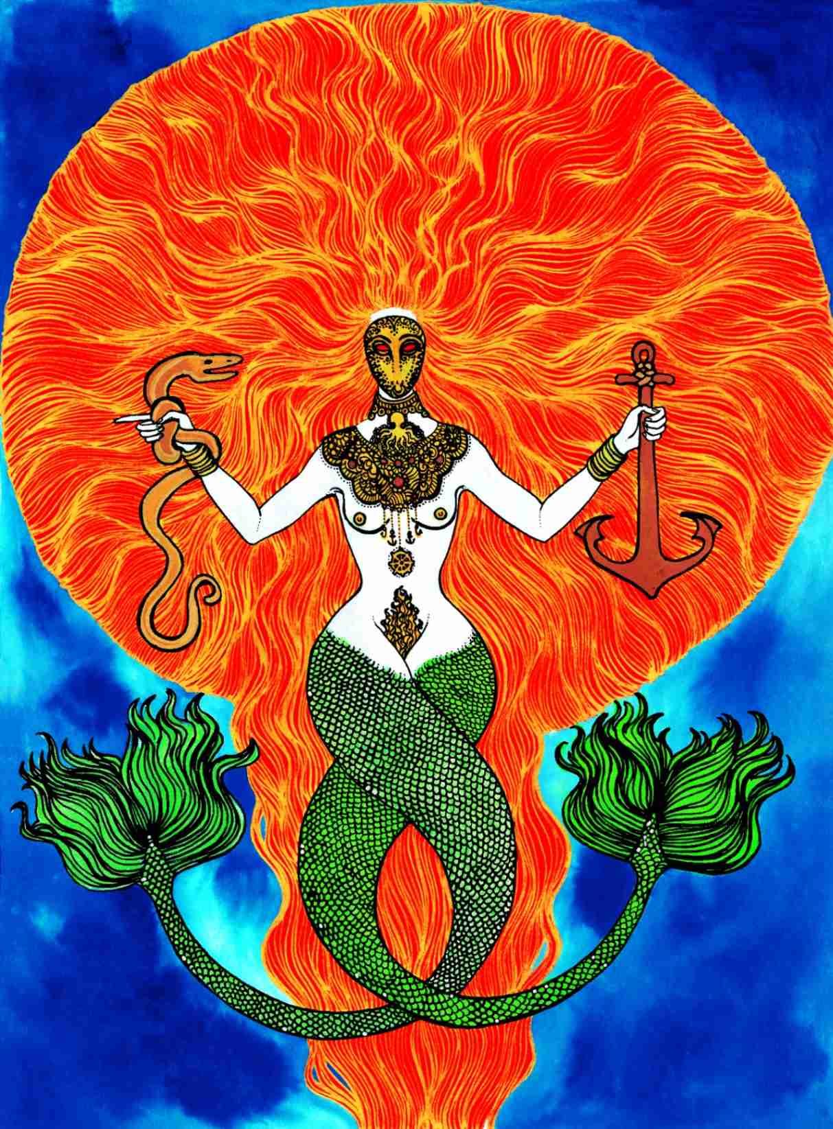 """Obra: """"Sangre de Sirena""""  (2012-2019)"""