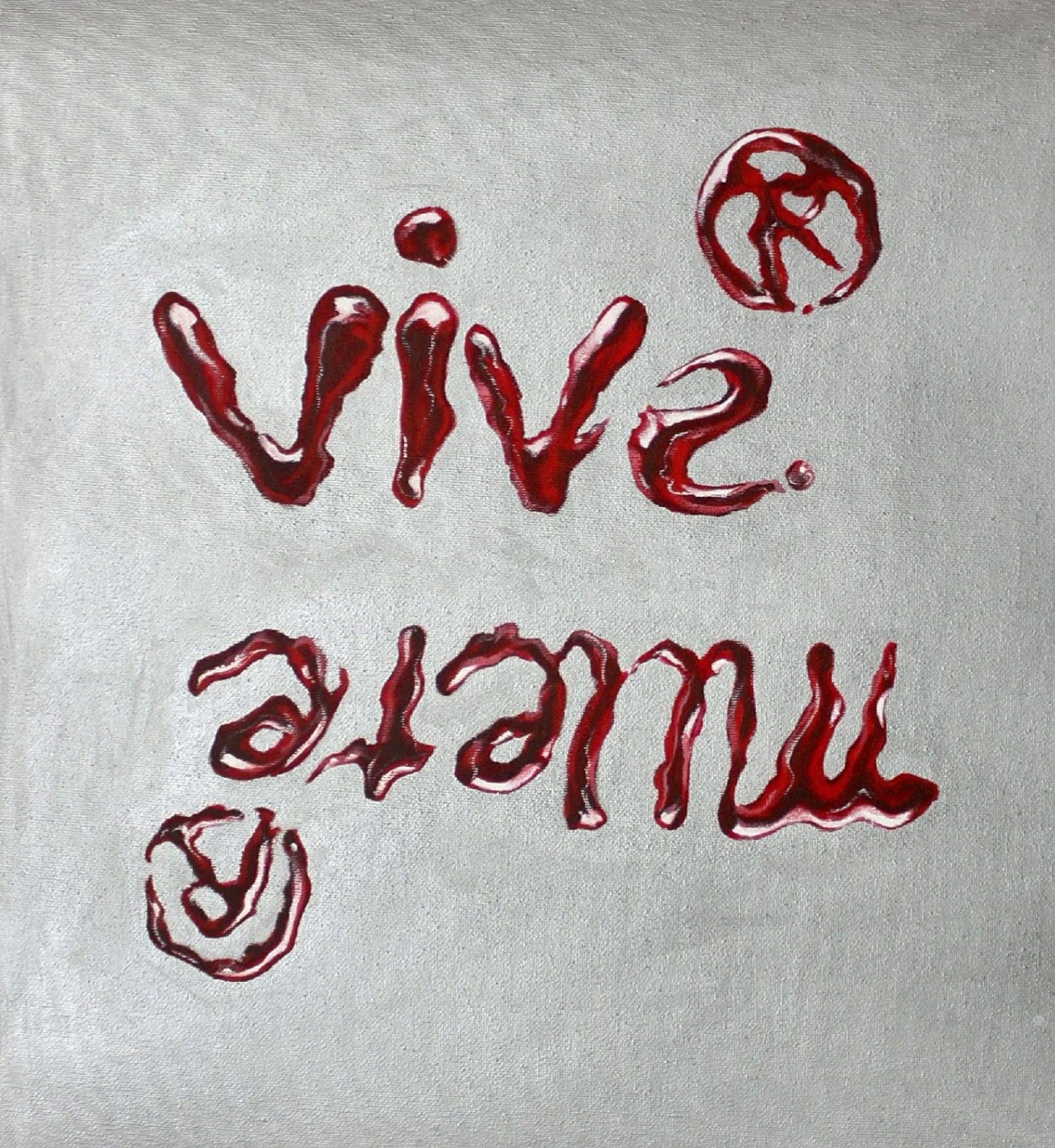 Obra: Vive y muere