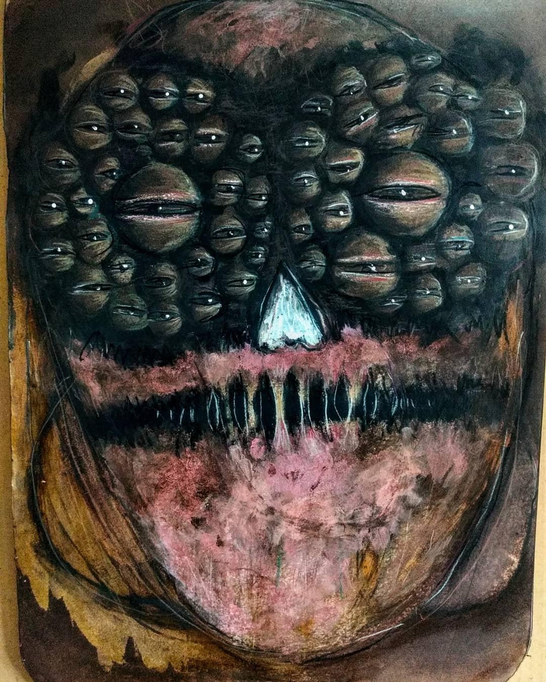 Obra: Máscara de las suspicacias