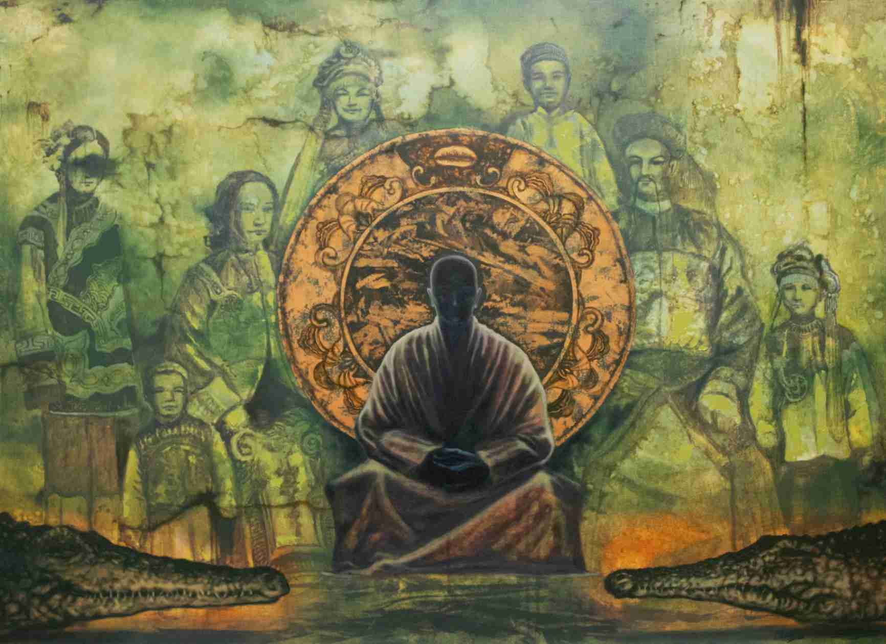 Obra: Meditación