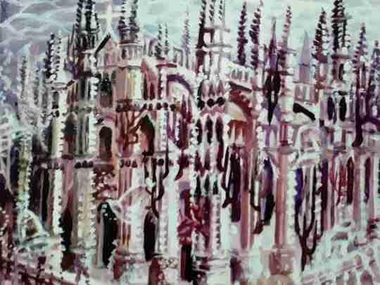 "Obra: "" Catedral de Milán"