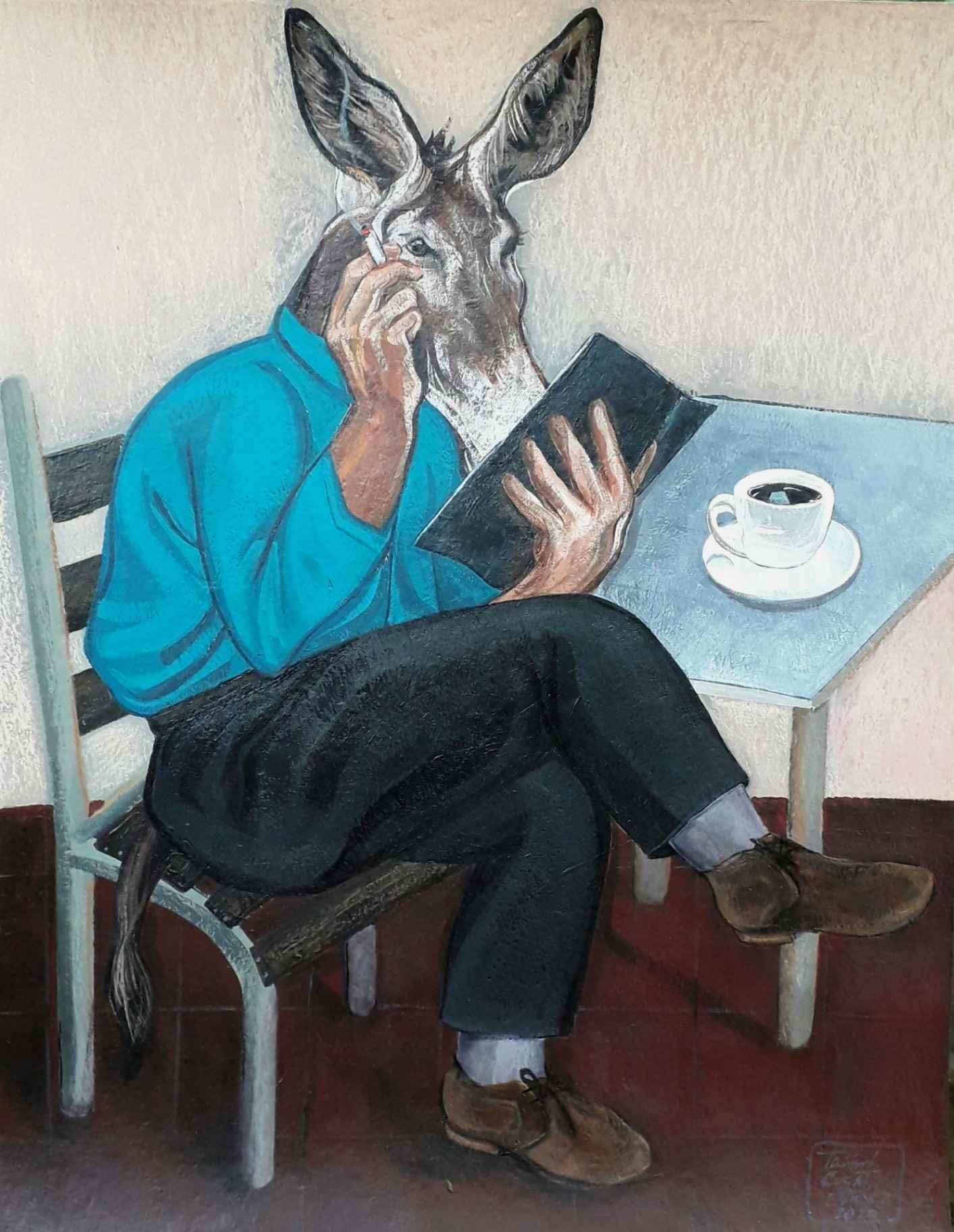 Obra: La lectura màs profunda#1
