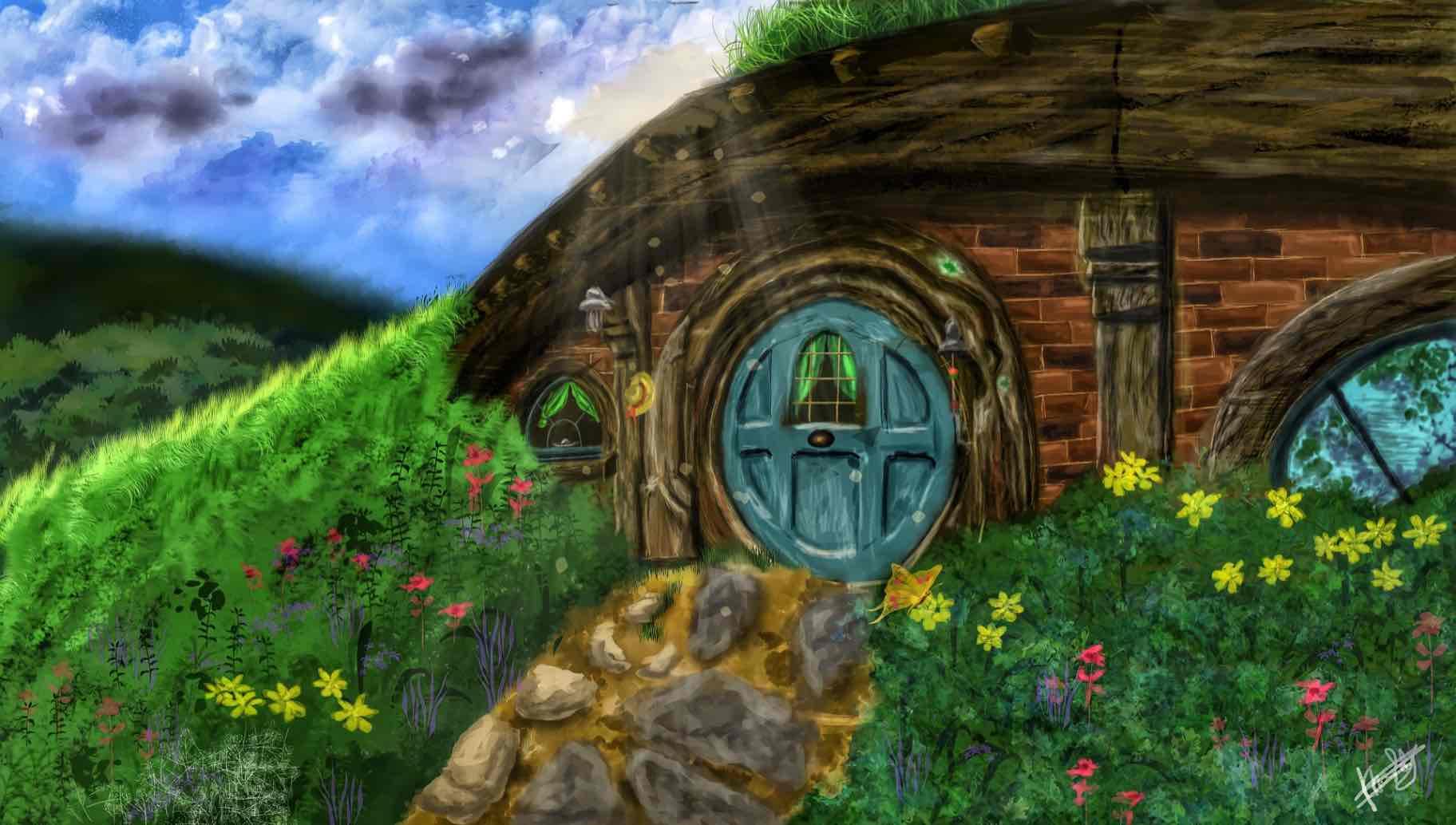 Obra: Hobbit Hole