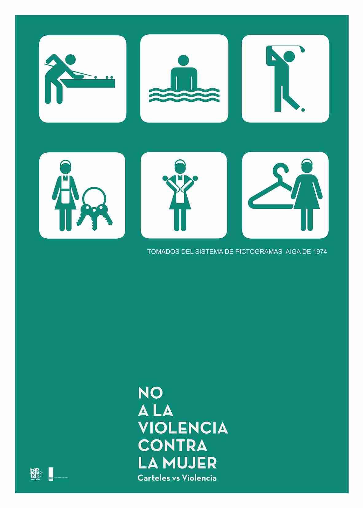 Obra: No a la violencia contra la mujer.