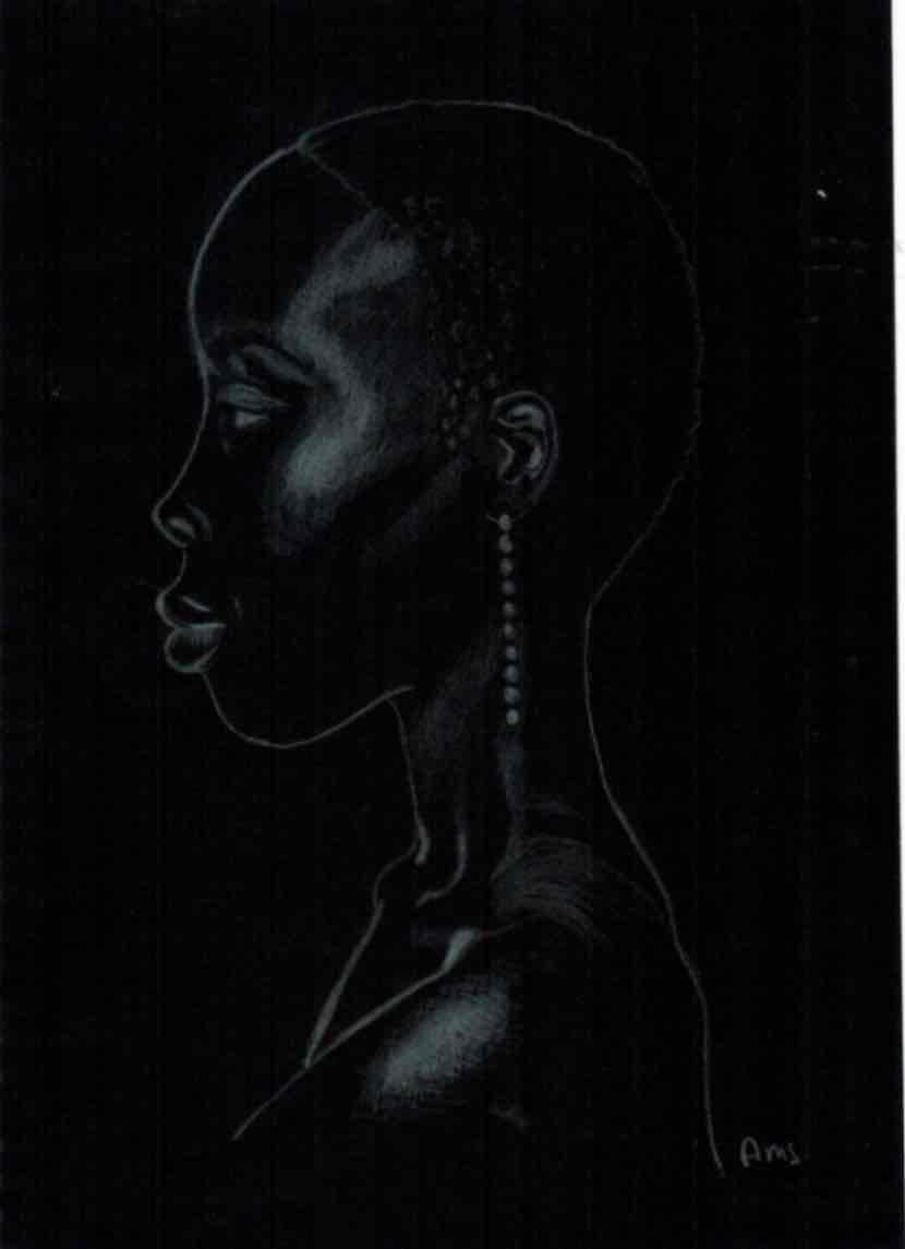 Obra: Pieza #6 de Serie Black Girls Matter