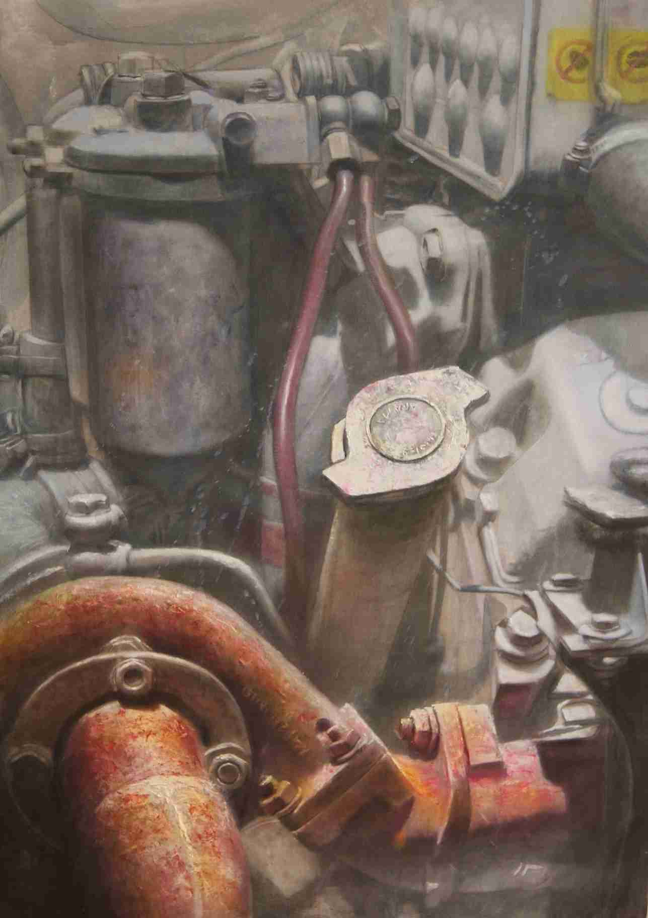 Obra: Turbo (de la serie Maquinaria)
