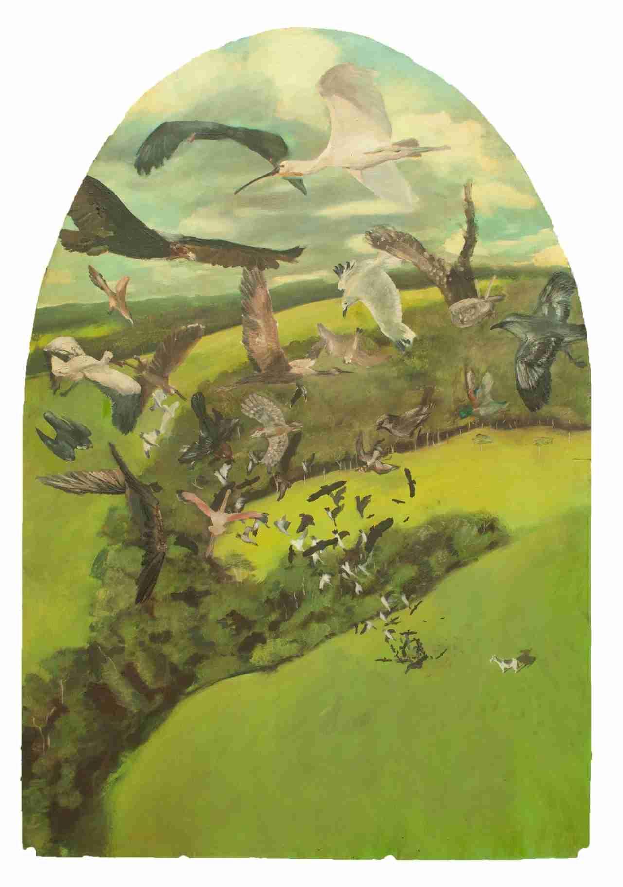 Obra: La conjura de las aves (Cuatro versiones de la muerte de Maceo en los sueños de Manuel Piedra Martel)