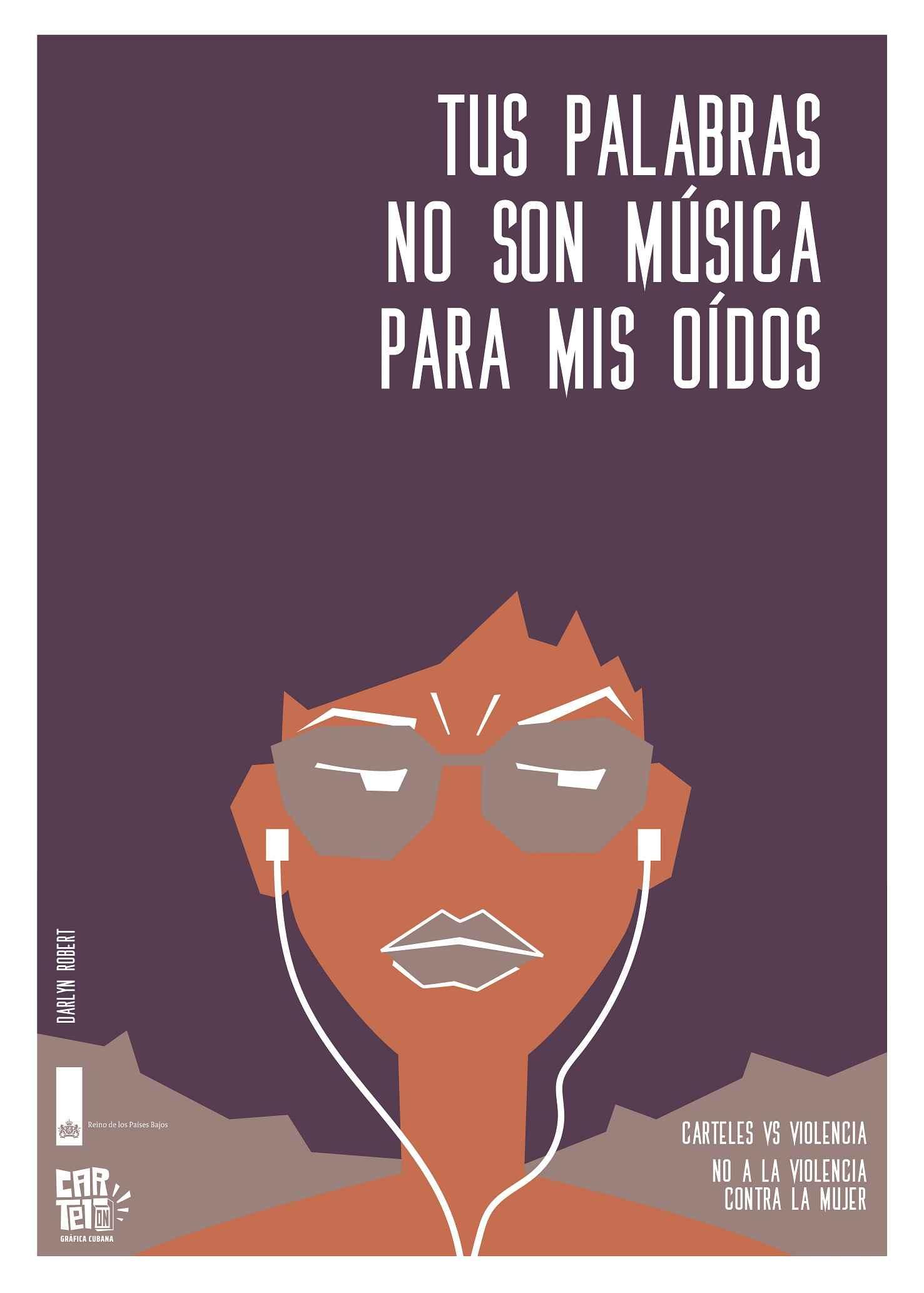 Obra: Tus palabras no son música para mis oídos