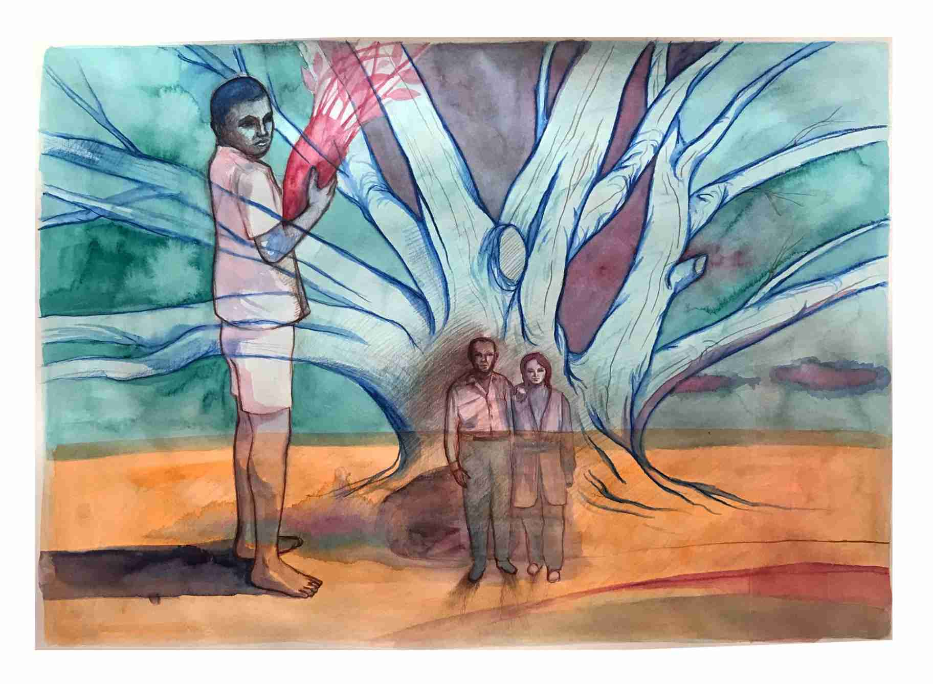 Obra: Homage to the land / Homenage a la tierra