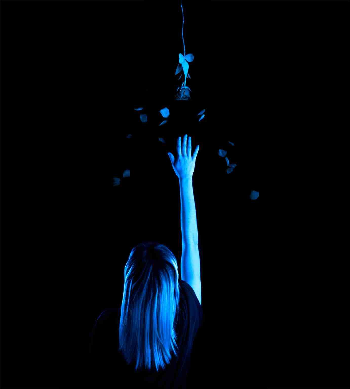 Obra: Azul, yo sé que puedo alcanzarla