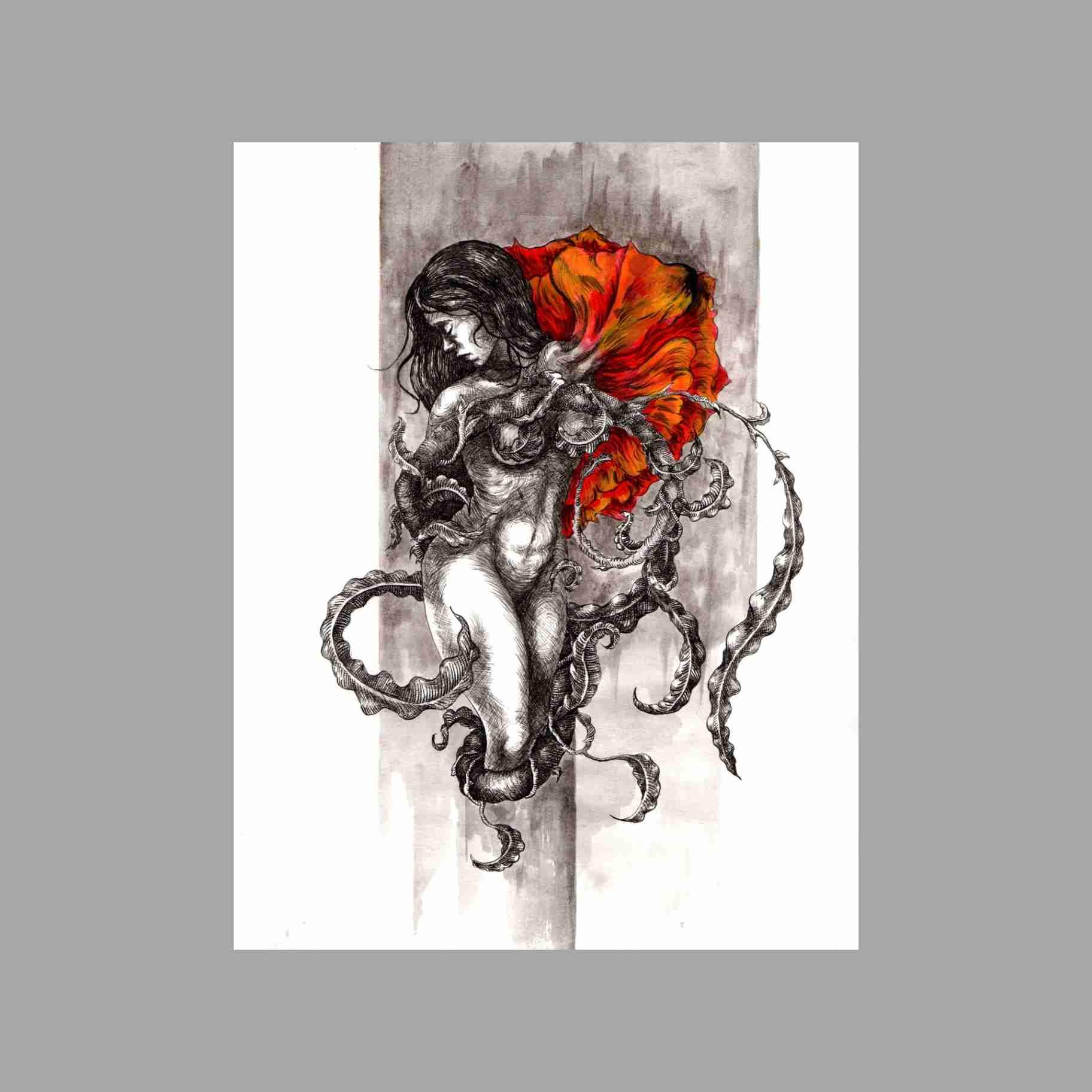 Obra: Nace una Rosa