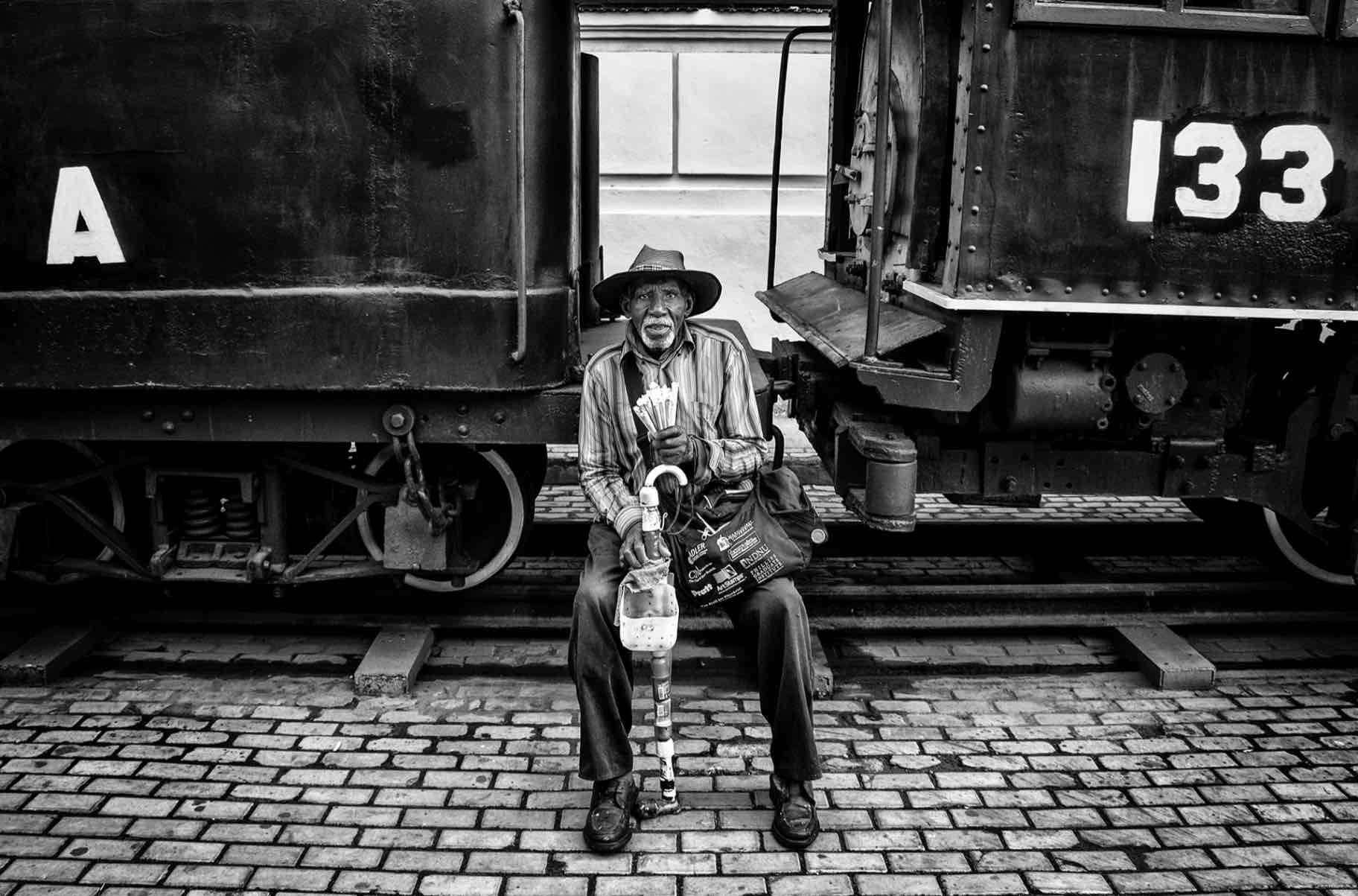 """Obra: """"El viejo del tren"""""""