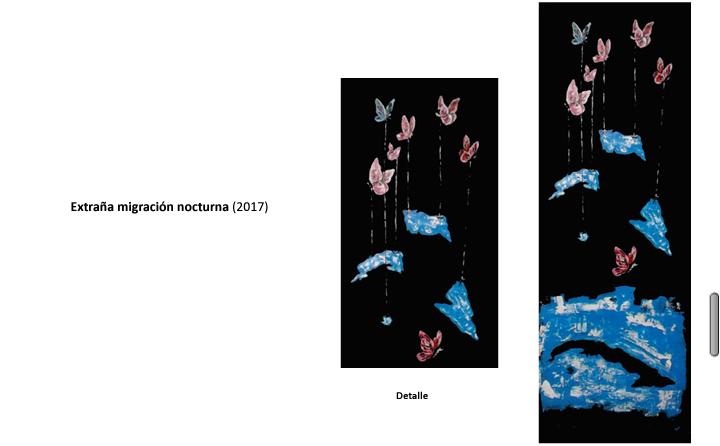 Obra: Extraña migración nocturna