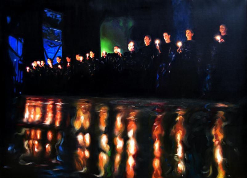 Obra: La marcha de las antorchas
