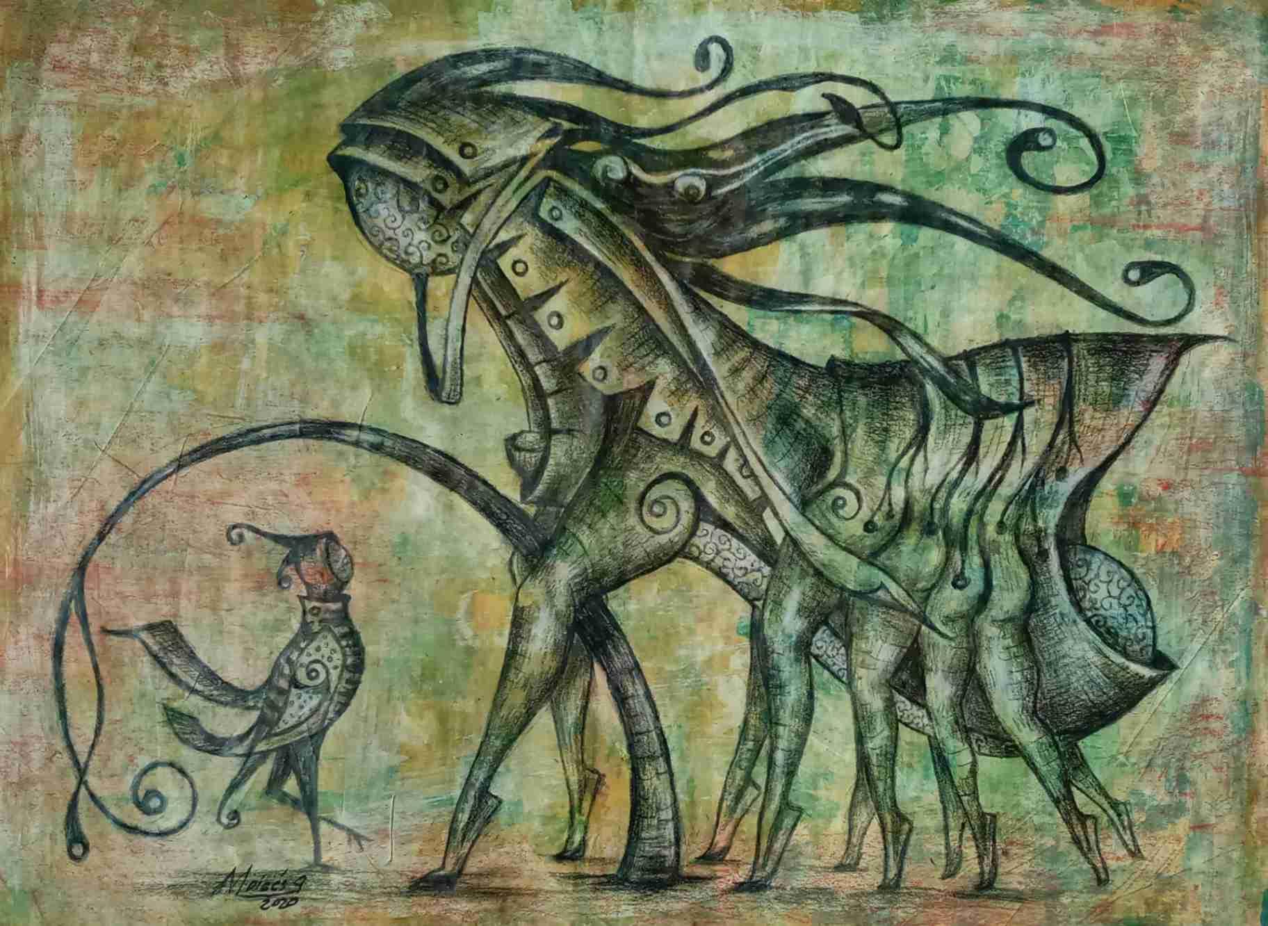Obra: Fantasía #2