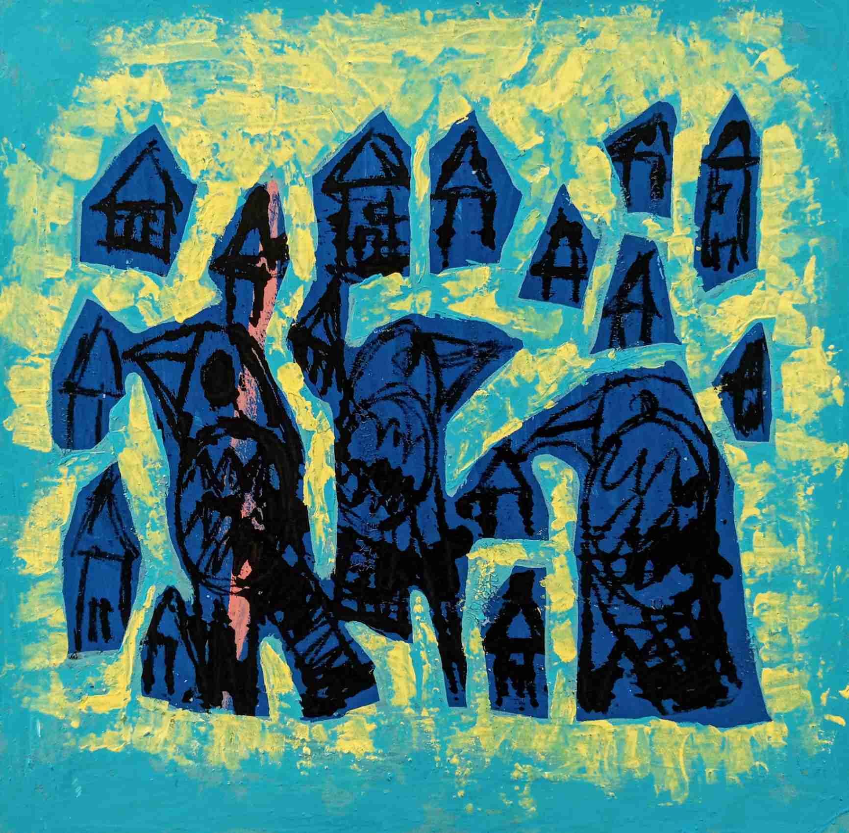 Obra: Mi Ciudad en Azul