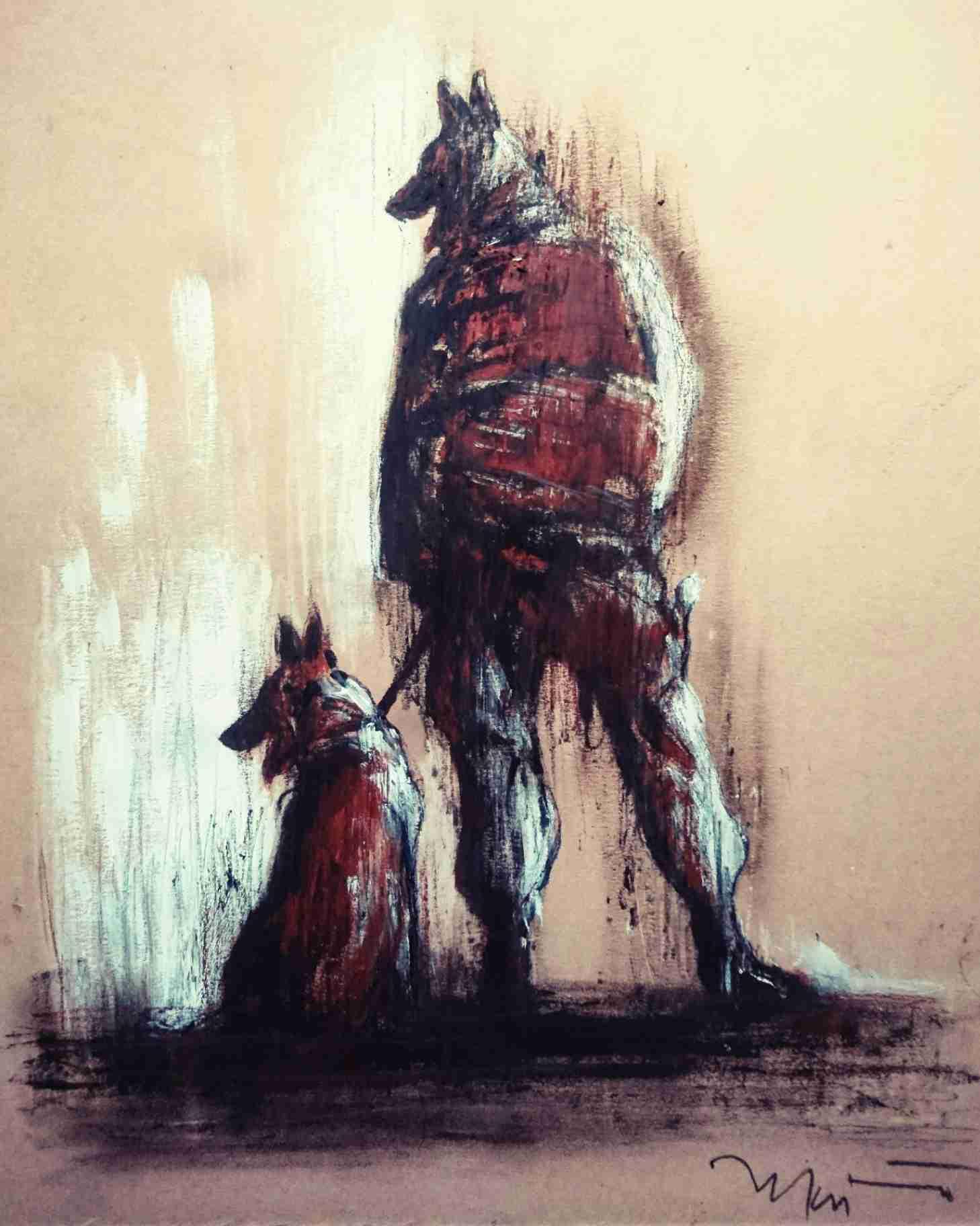 Obra: Perro no come perro
