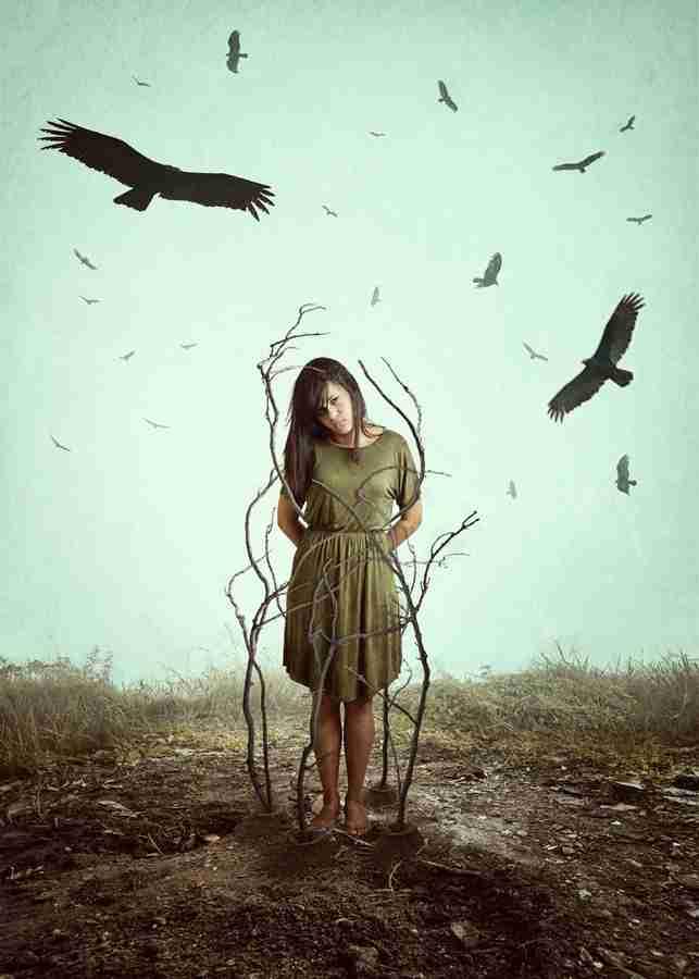Obra: Alone in the woods