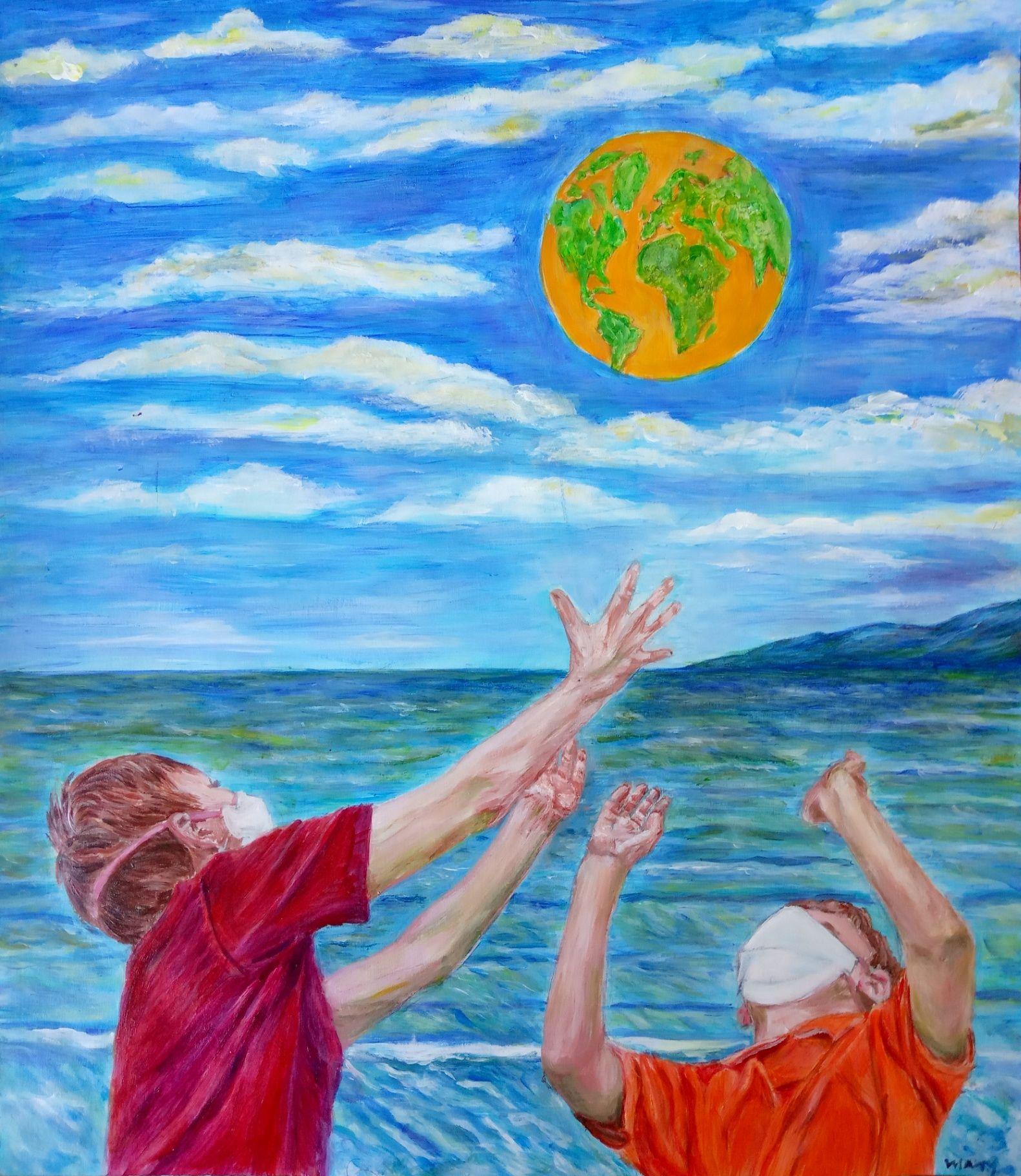 Obra: El Mundo en sus manos