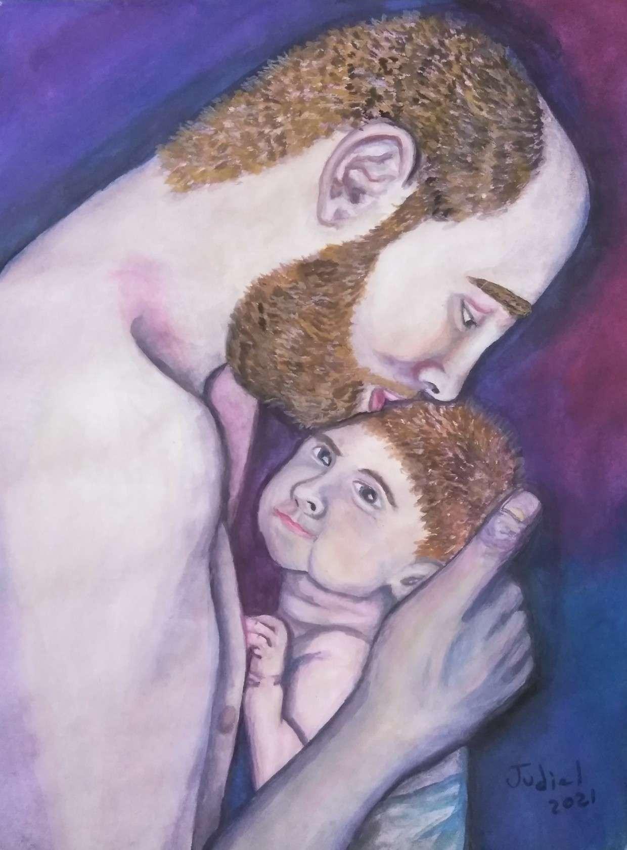 Obra: El beso del padre