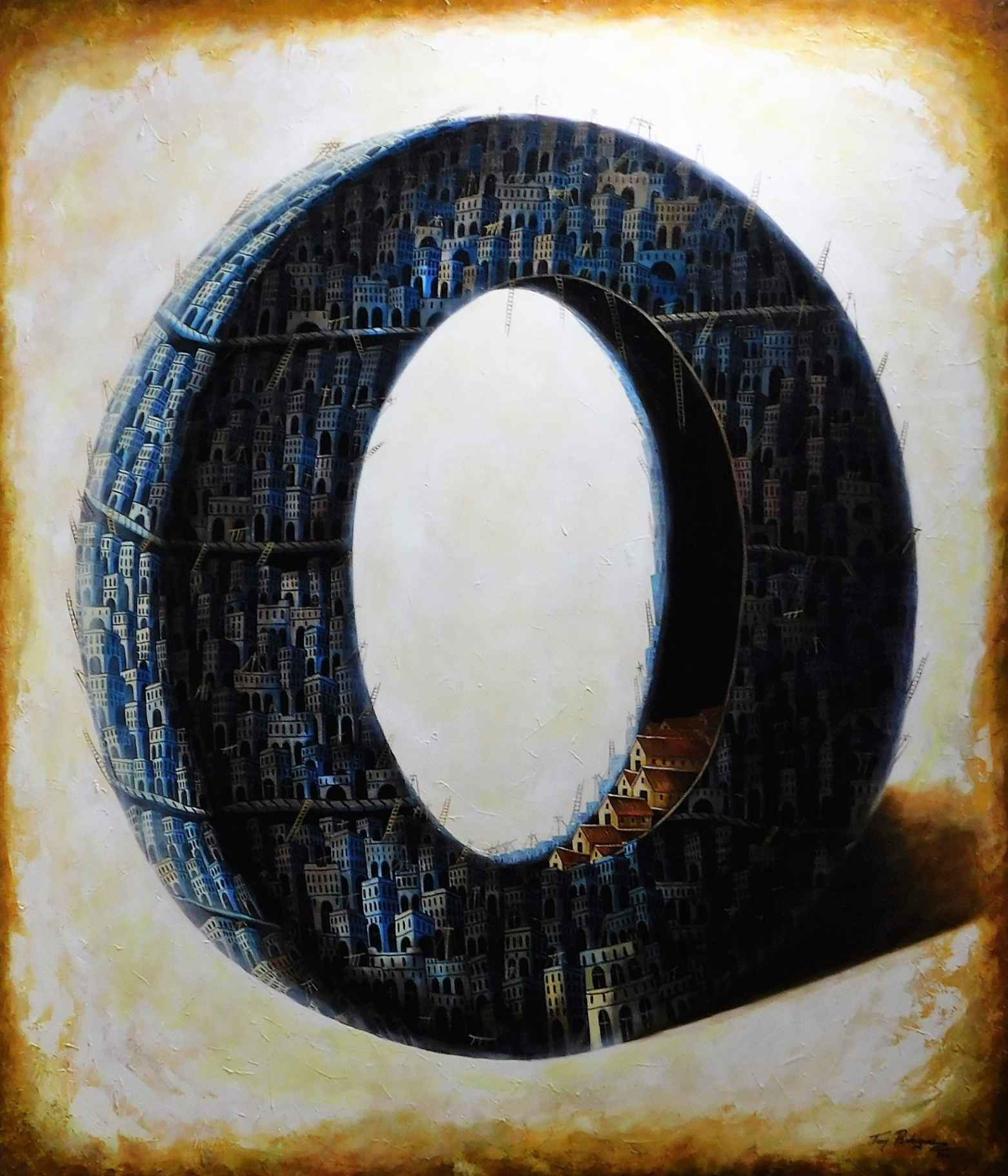 Obra: Serie  Who we are, where we come from, where we are going