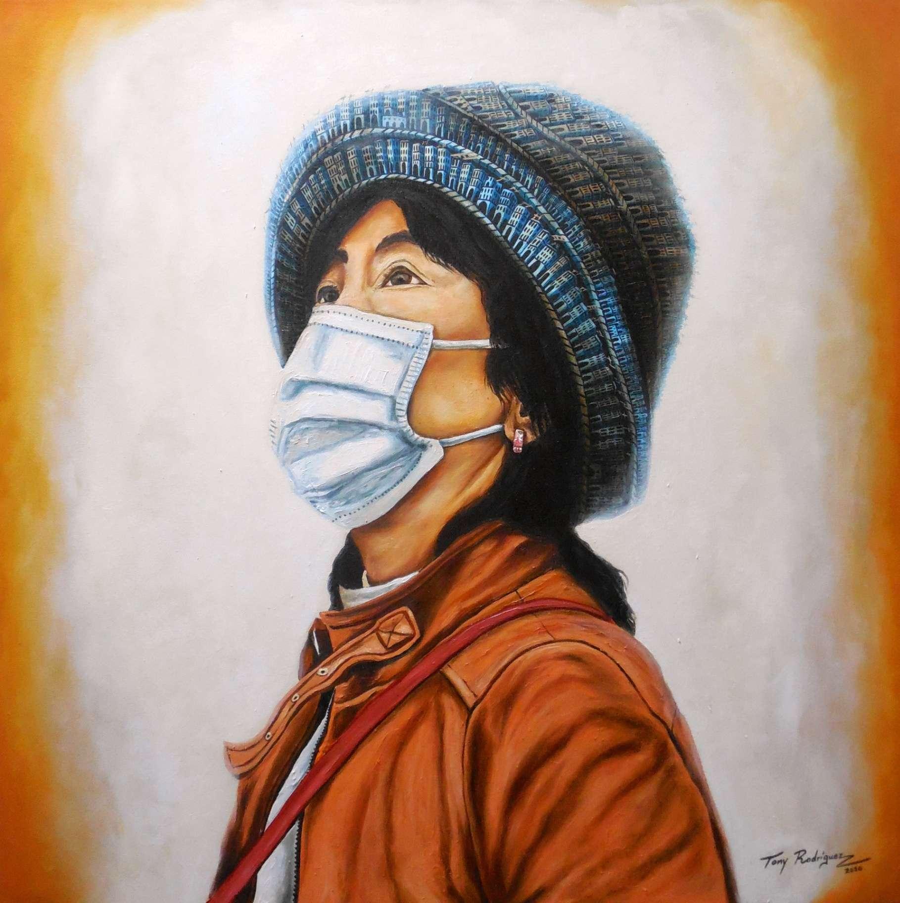 Obra: De la serie En tiempos de coronavirus...Esperanza