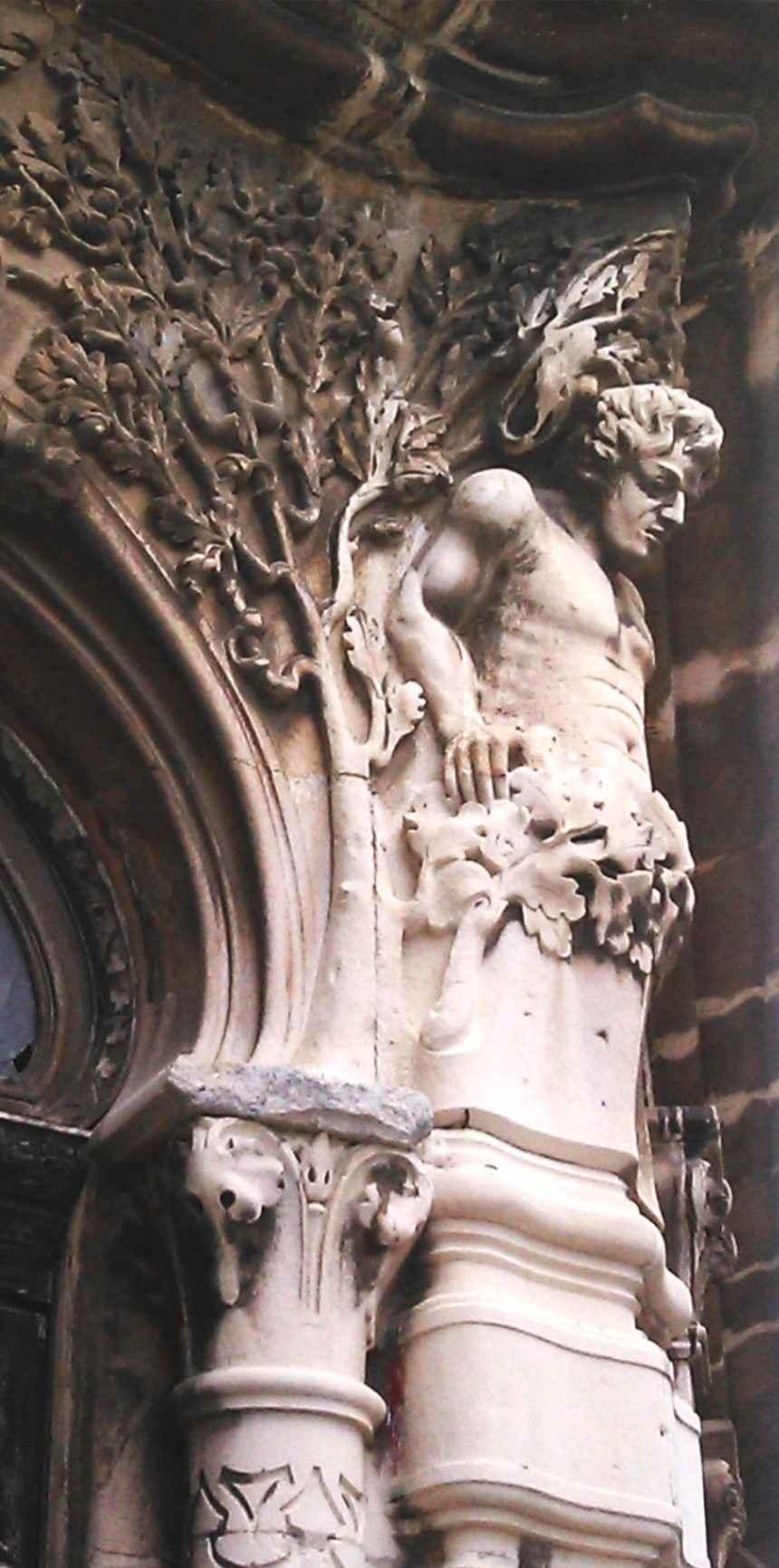 Obra: Hombrecillo del Art Nouveau