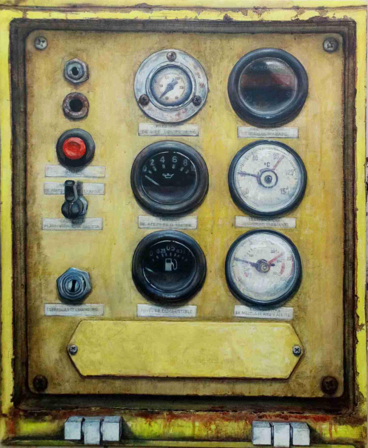 Obra: De la serie Maquinaria