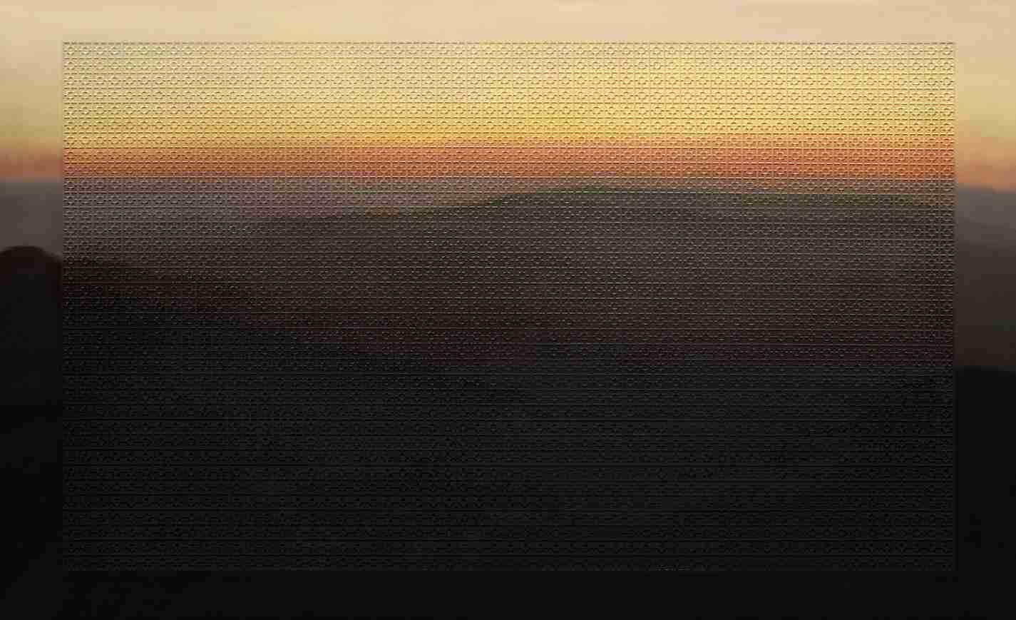 Obra: Amanecer en el pico Turquino