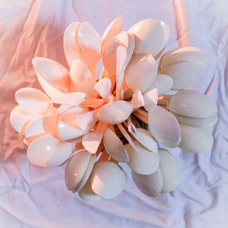 Obra: Flor mariposa