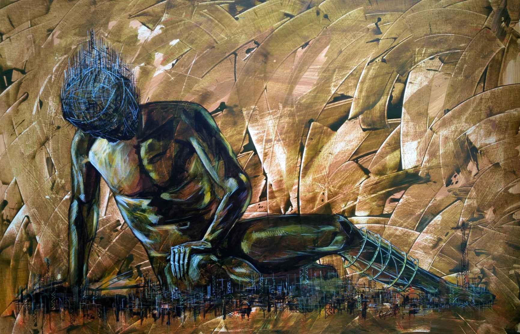 Obra: A caída Da Serie O corpo da cidade