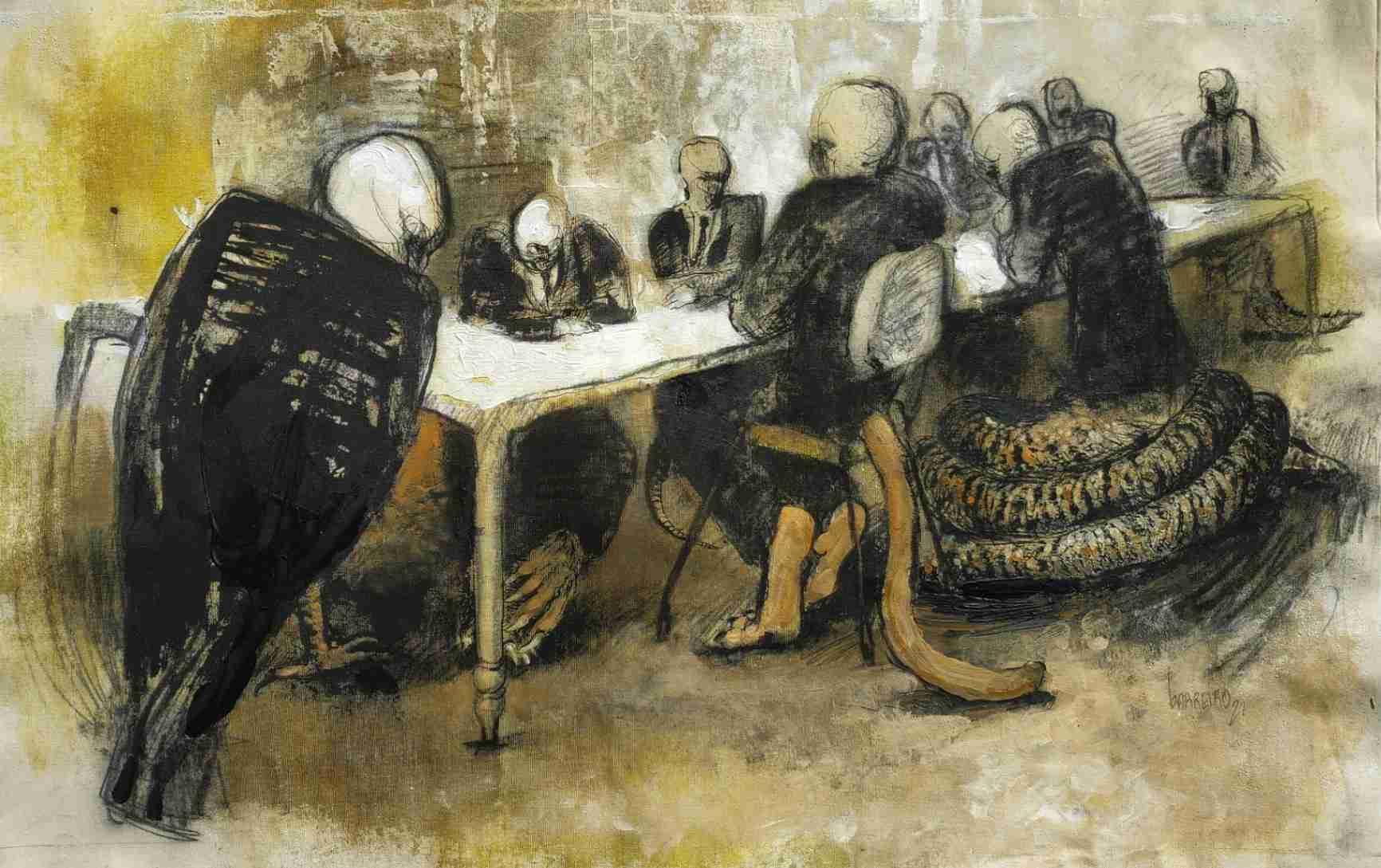 Obra: El banquete