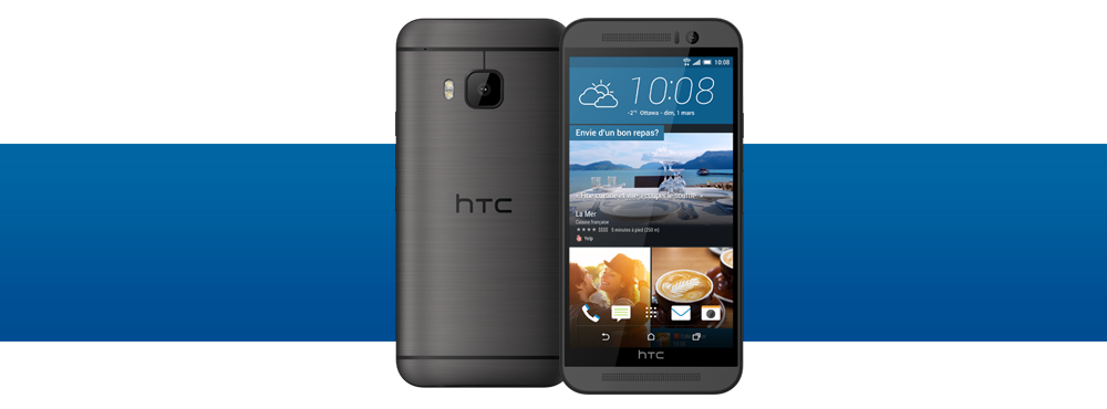 HTC One M9 device