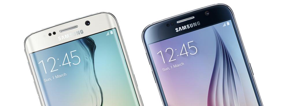 Samsung Galaxy S6 & S6 edge devices
