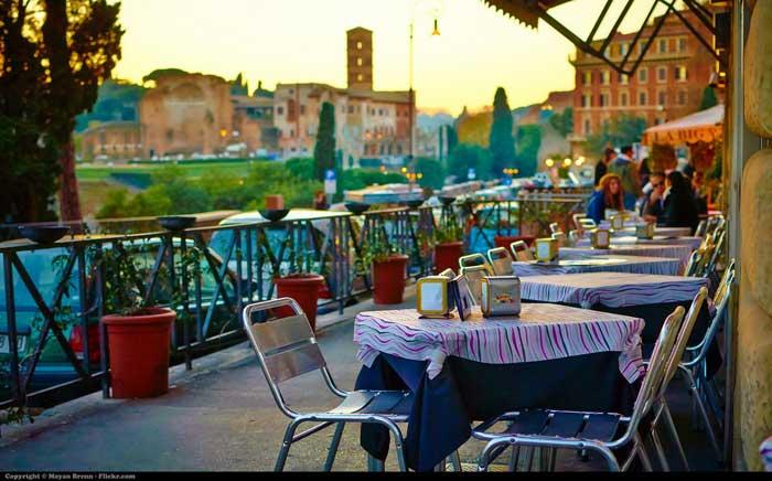 Picturesque Restaurant, Rome