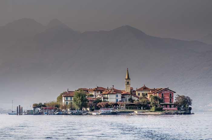 Isola dei Pescatori, Lake Maggiore, Piedmont