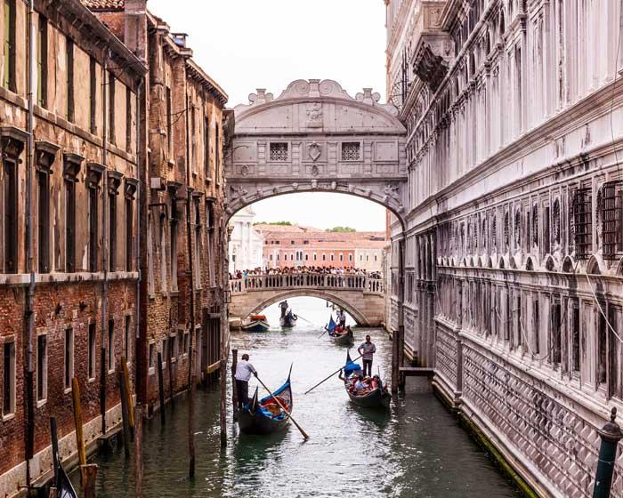 Bridge of Sighs, Castello, Venice