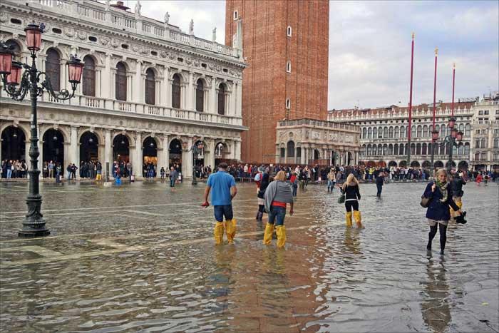 Acqua Alta inSan Marco, Venice