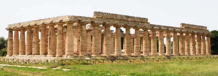 Temple of Athena, Paestum, Campania