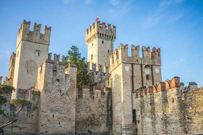 Scaliger Castle, Lake Garda