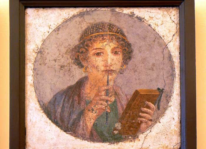 Portrait from Ancient Pompeii