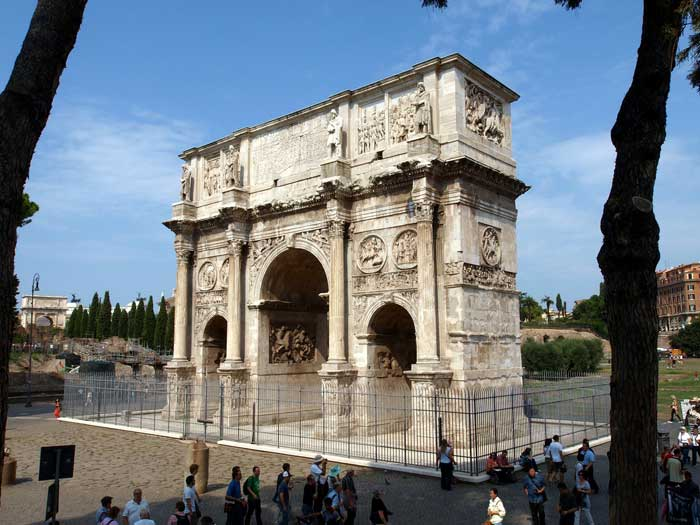 Arch of Constantine, Ancient Rome