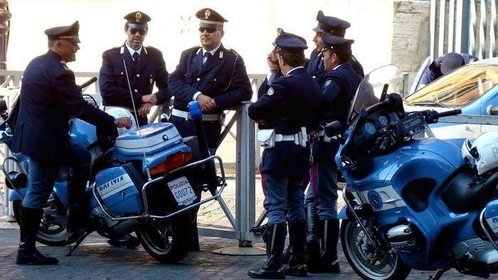 Carabinieri Outside the Vatican, Rome