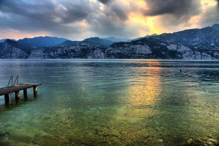 Lago di Garda, Malcesine, Veneto