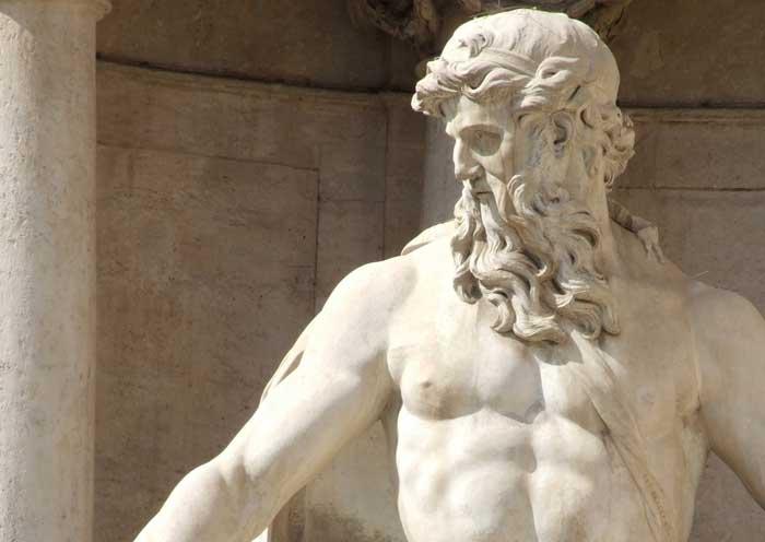 Oceanus Statue, Trevi Fountain Rome