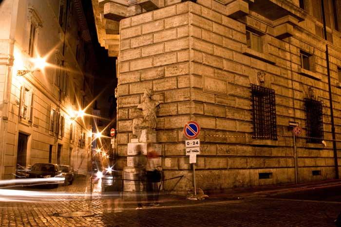 Pasquino Talking Statue, Rome